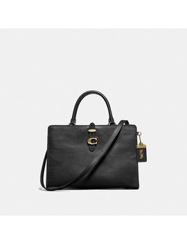 Serra Satchel In Colorblock by Coach