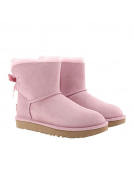 w-mini-bailey-bow-ii-pink-crystal by ugg