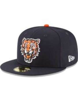 Detroit Tigers New Era Cooperstown Collection Wool 59 Fifty Fitted Hat   Navy by New Era