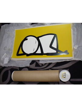 stik-sleeping-baby-yellow-silkscreen-print-edition-of-25-sold-out-nhs-homerton by ebay-seller