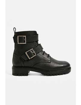 uo-bernie-buckle-lace-up-boots by urban-outfitters