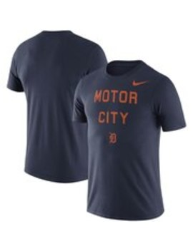 Detroit Tigers Nike Performance Motor City Local T Shirt   Navy by Nike