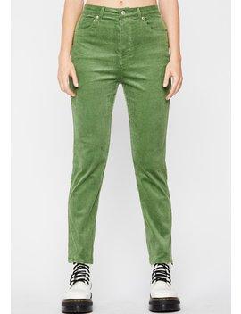 evergreen-fallin-hard-corduroy-pants by dolls-kill