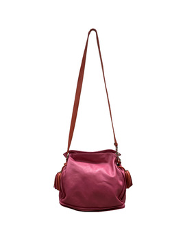 Loewe Two Tone Leather Flamenco Knot Bag by The Luxury Closet