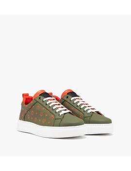 mens-low-top-sneaker-in-visetos by mcm