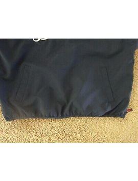 detroit-tigers-pullover-windbreaker-mens-xl-jacket-blue-and-orange by genuine-merchandise