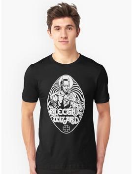 electric-wizard---lucifer-slim-fit-t-shirt by lnfernum