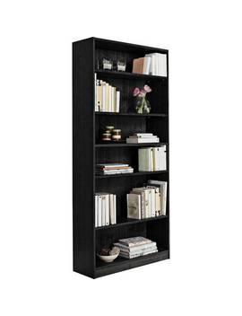 argos-home-maine-5-shelf-tall-&-wide-deep-bookcase---black609_3554 by argos