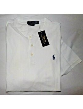 nwt-mens-polo-ralph-lauren-s_s-henley-shirt~white~sz-xl by polo-ralph-lauren