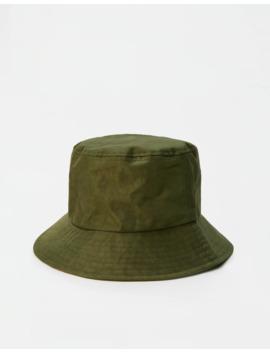 khaki-bucket-hat by pull-&-bear