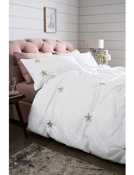 embroidered-stars-duvet-cover-and-pillowcase-set by next