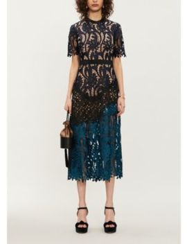 prairie-floral-embroidered-midi-dress by self-portrait