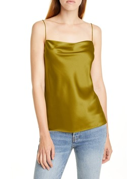 the-axel-stretch-silk-camisole by cami-nyc