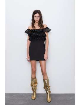 dress-with-organza-ruffles by zara