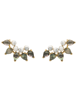 Grand Pacific Earrings by P D Paola