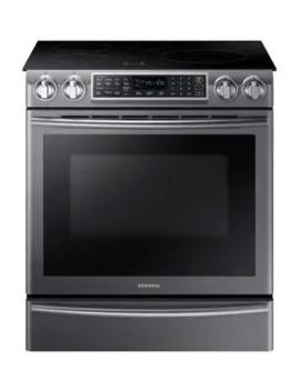 ne58n9560wg_ac-58-cu-ft-slide-in-induction-range-with-virtual-flame---black-stainless-steel by samsung