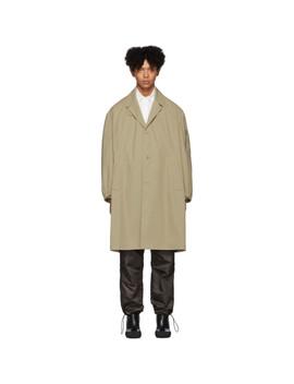 beige-car-coat by random-identities