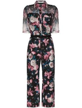 vala-floral-print-jacquard-jumpsuit by erdem