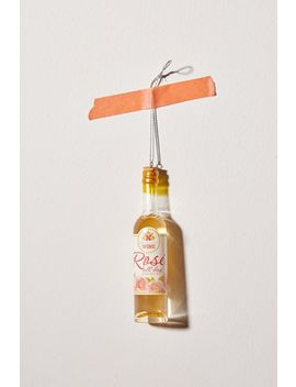 rosé-bottle-christmas-ornament by urban-outfitters