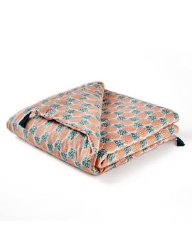 azélie-printed-cotton-quilt by la-redoute-interieurs