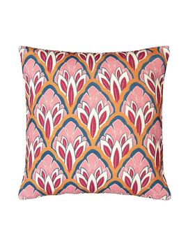 Kazan Velvet Cushion Cover by La Redoute Interieurs
