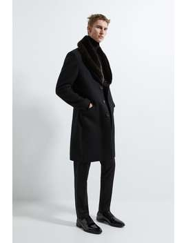 coat-with-combined-faux-fur-collar by zara