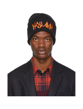 black-rock-beanie by dsquared2