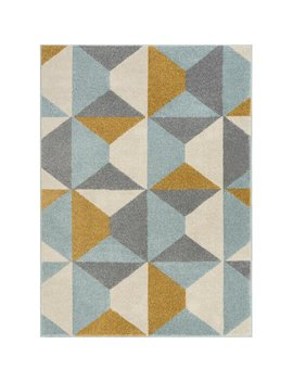 mystic-gold_grey_blue-rug by well-woven
