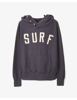 Fleecy Knit Surf Swt by Kapital