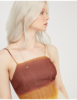 rose-gold-semi-precious-beaded-rope-necklace by accessorize