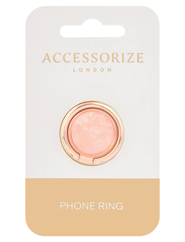 Resin Phone Ring by Accessorize