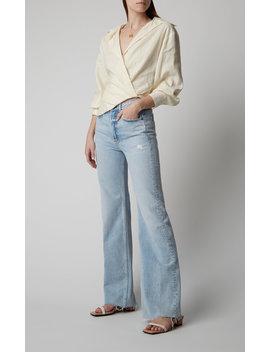 carla-high-rise-flared-jeans by grlfrnd-denim