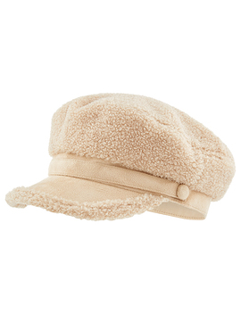 teddy-peaked-cap by accessorize