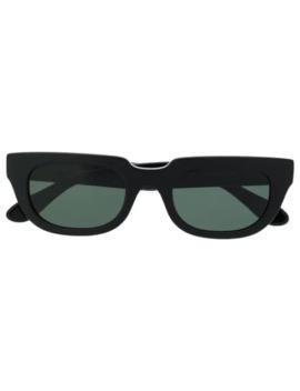 rektangulære-solbriller-med-tonet-glas by han-kjøbenhavn