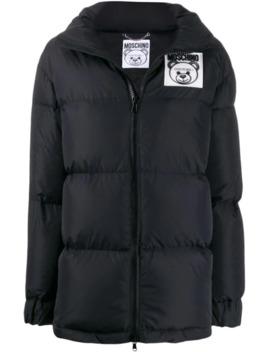 teddy-bear-puffer-jacket by moschino