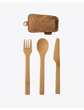 Bambu Travel Utensil Set by Nisolo