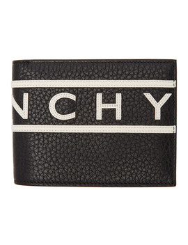 black-reverse-logo-wallet by givenchy