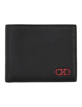 black-gancinci-wallet by salvatore-ferragamo