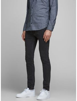 Liam Original Am 931 50 Sps Skinny Fit Jeans Teksturert Rullekrage Pullover  Liam Original Am 931 50 Sps Skinny Fit Jeans  Asics Japan S Sneakers by Jack & Jones