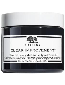 clear-improvement-charcoal-honey-mask-aktivkohle-maske-origins-masken by origins