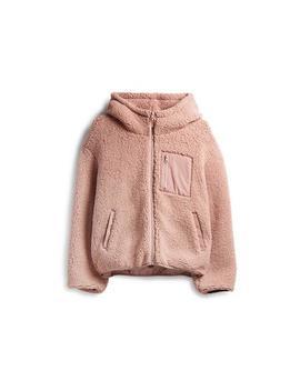 blush-fleece-zip-hoodie by primark
