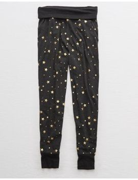 aerie-dreamy-soft-foldover-jogger by american-eagle-outfitters