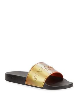 mens-logo-print-rubber-slide-sandals by givenchy
