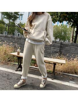 naning9---fleece-lined-sweatshirt-&-sweatpants-set by naning9