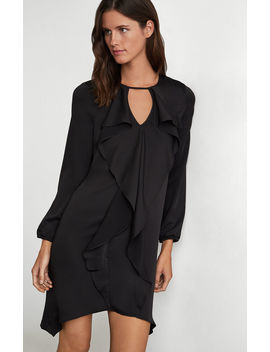 ruffle-front-dress by bcbgmaxazria