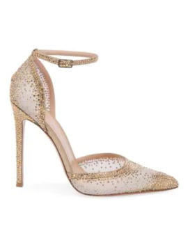 sabin-ankle-strap-crystal-embellished-silk-&-leather-pumps by gianvito-rossi