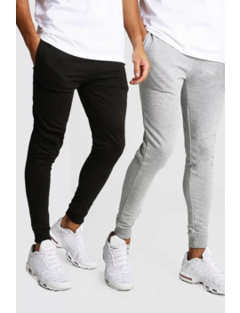 2 Pack Super Skinny Fit Jogger2 Pack Super Skinny Fit Jogger by Boohoo
