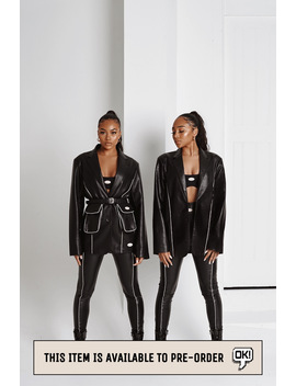 """Pre Order: """"Clone"""" Blazer by Sisters And Seekers"""
