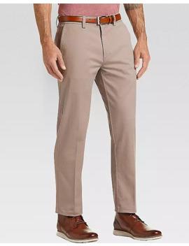 Haggar Iron Free Premium Tan Straight Fit Khaki Pants by Haggar