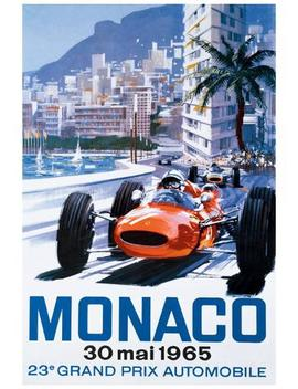 Grand Prix Monaco, 30 Mai 1965 by All Posters